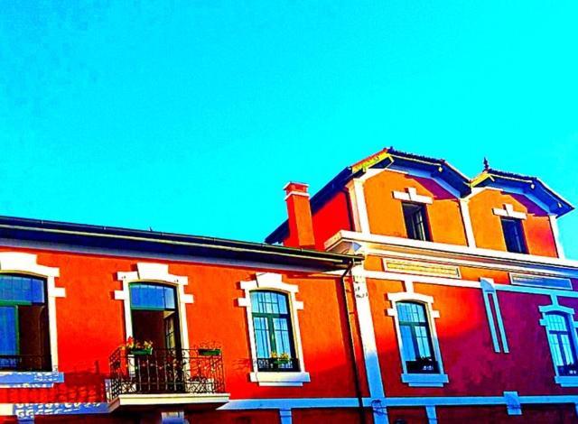 A fachada ou entrada em Dona Fina Guest House