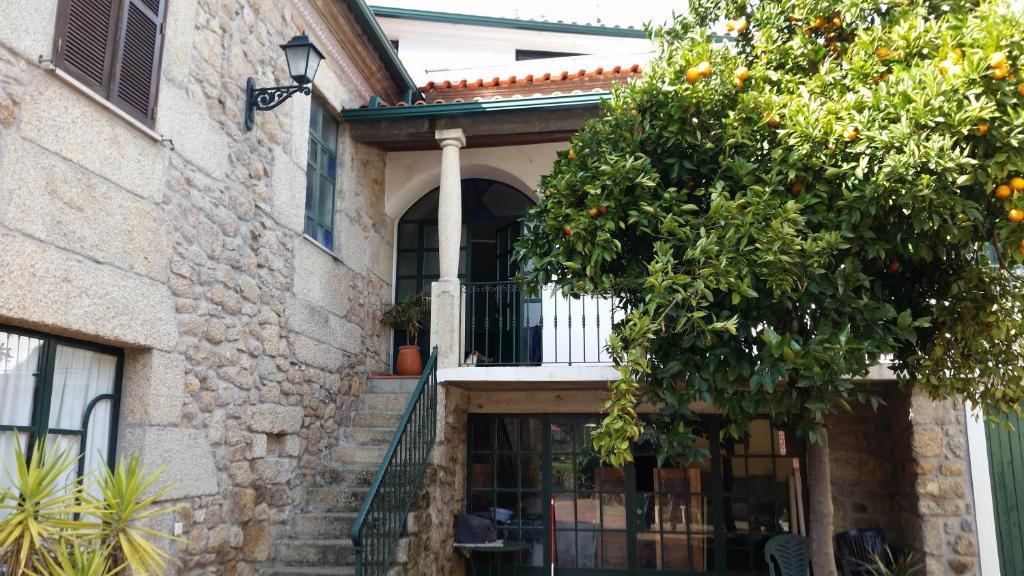 Patio tai muu ulkotila majoituspaikassa Nossa Casa na Aldeia
