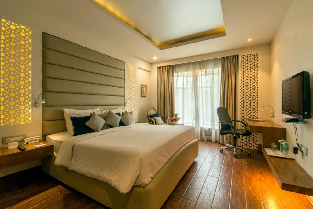 Una habitación en Howard Plaza The Fern, Agra