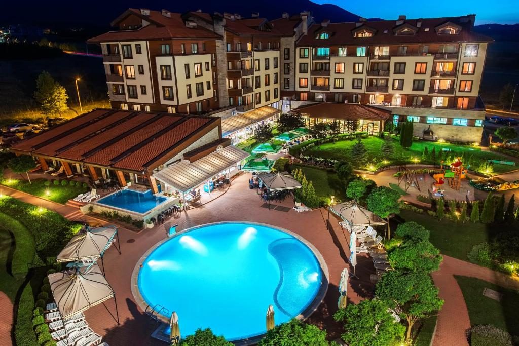 A bird's-eye view of Murite Club Hotel