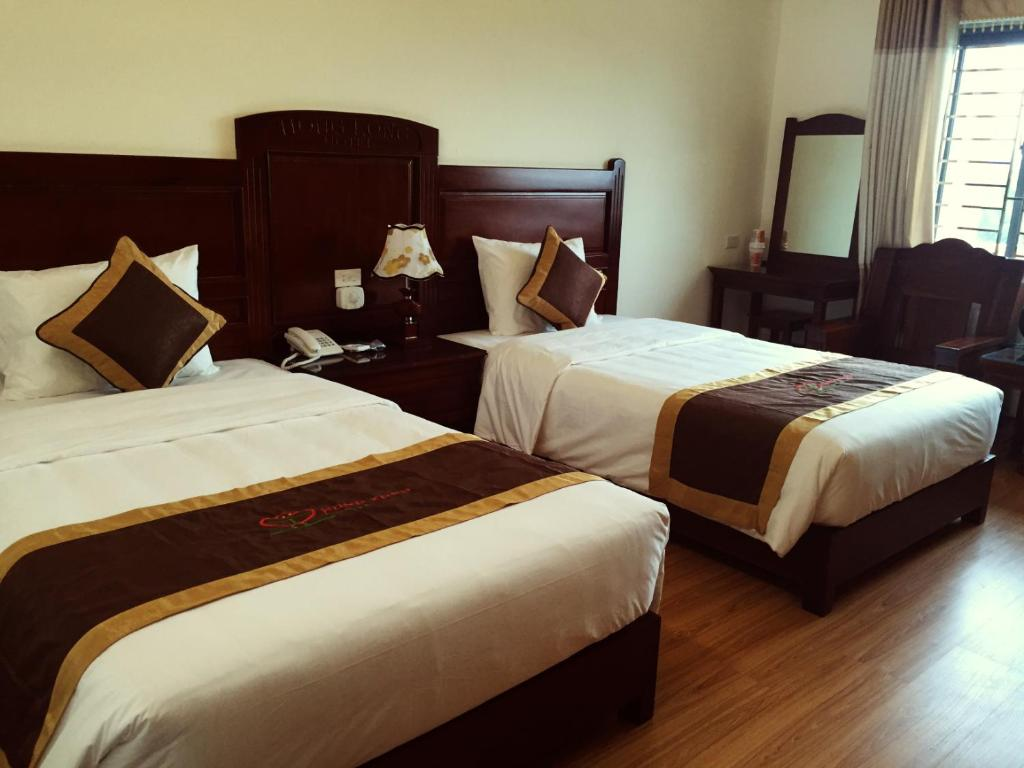 Phòng Deluxe 2 giường đơn với ban công