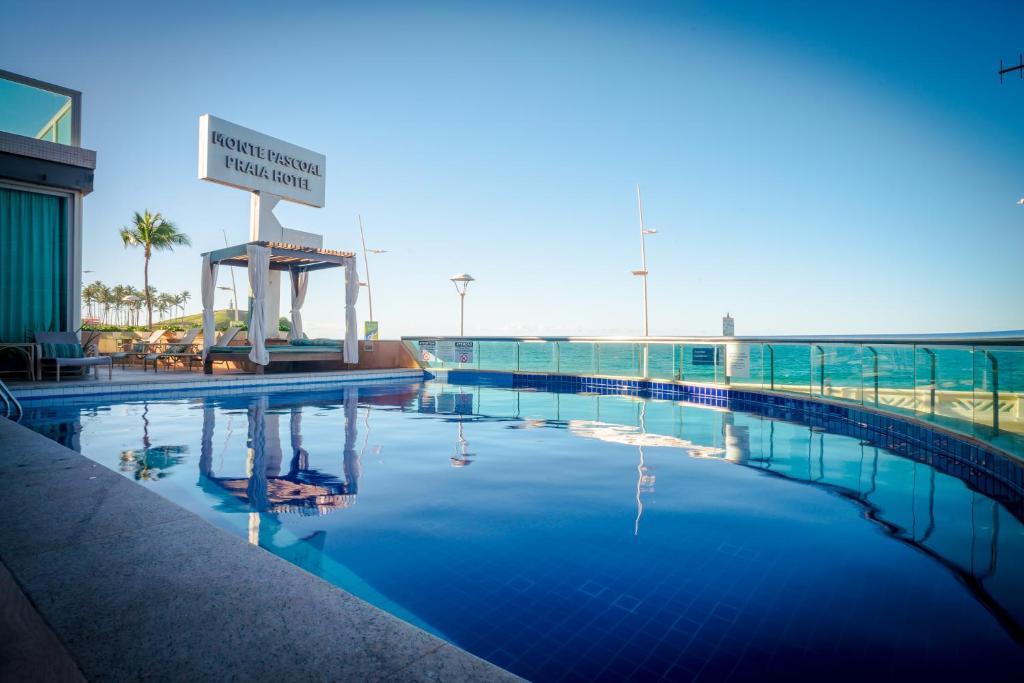 The swimming pool at or near Monte Pascoal Praia Hotel Salvador