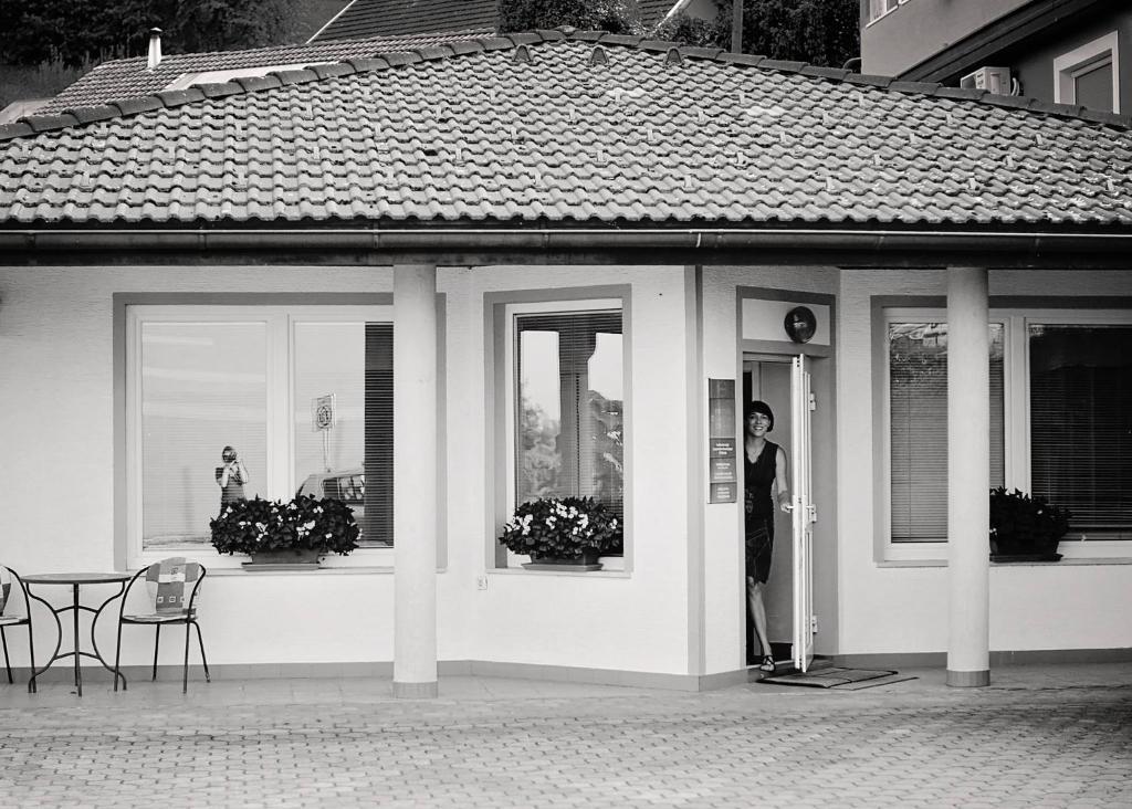 Patio lub wspólna przestrzeń na świeżym powietrzu w obiekcie Apartments Life & Energy
