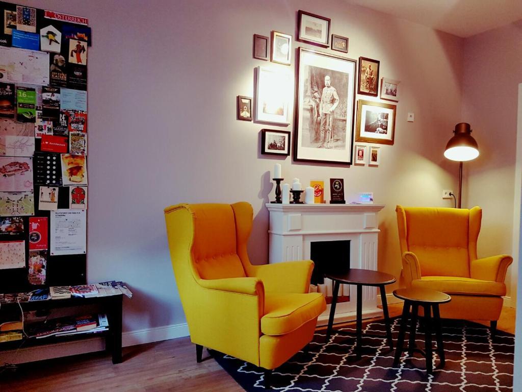 Lounge alebo bar v ubytovaní Kaisers Inn the Apartment