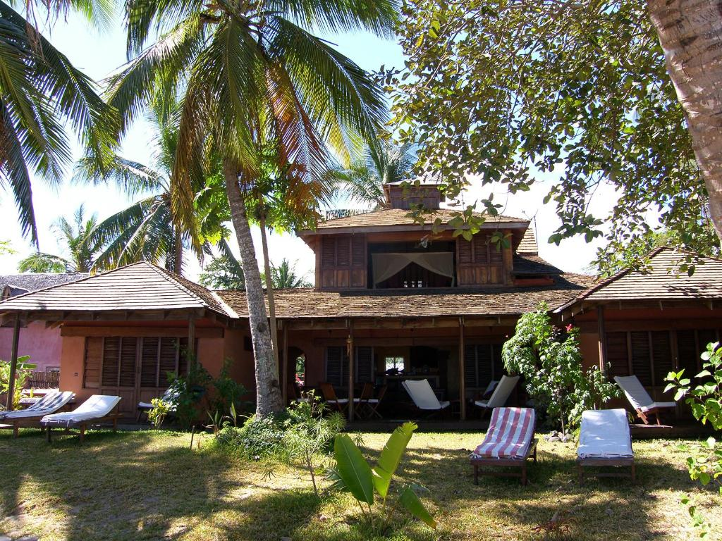Jardin de l'établissement Residence Tsara Vintana