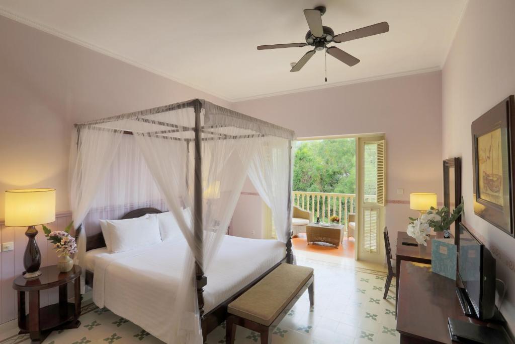 Phòng Premier Deluxe Giường Đôi/2 Giường Đơn Nhìn ra Khu vườn.