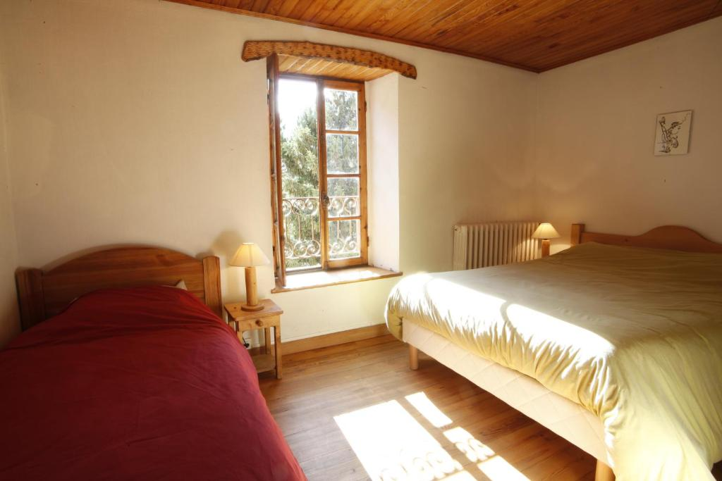 Ένα δωμάτιο στο Hôtel d'Izoard
