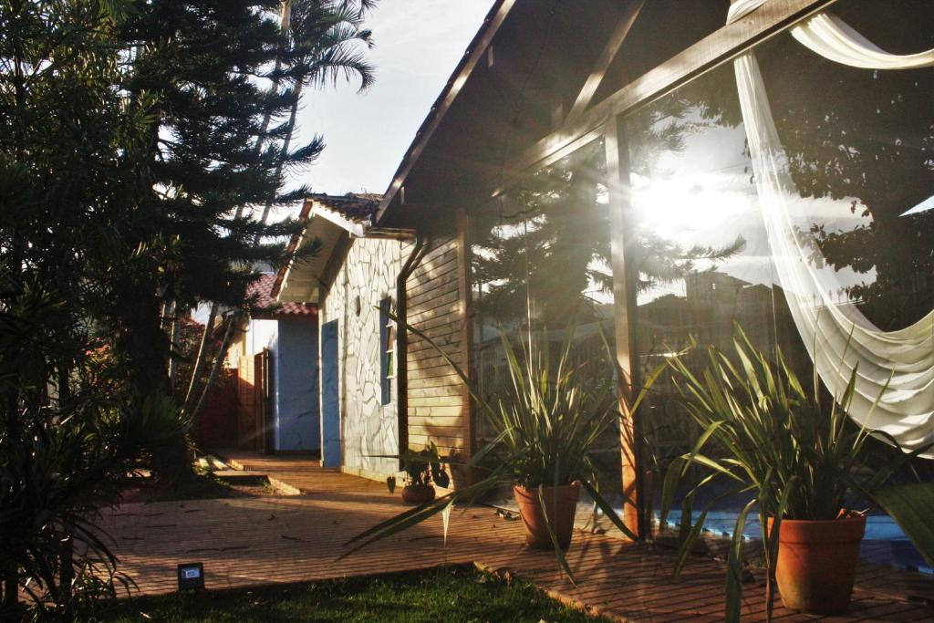 Fachada o entrada de Vintage Hostel Florianópolis