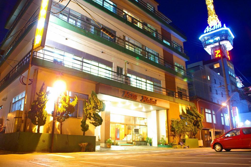 The facade or entrance of Tabino Oyado Rinkai