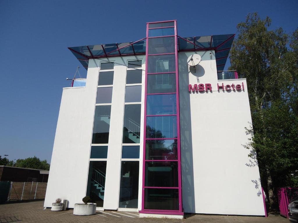 Fasadas ar įėjimas į apgyvendinimo įstaigą MSR Hotel Hannover