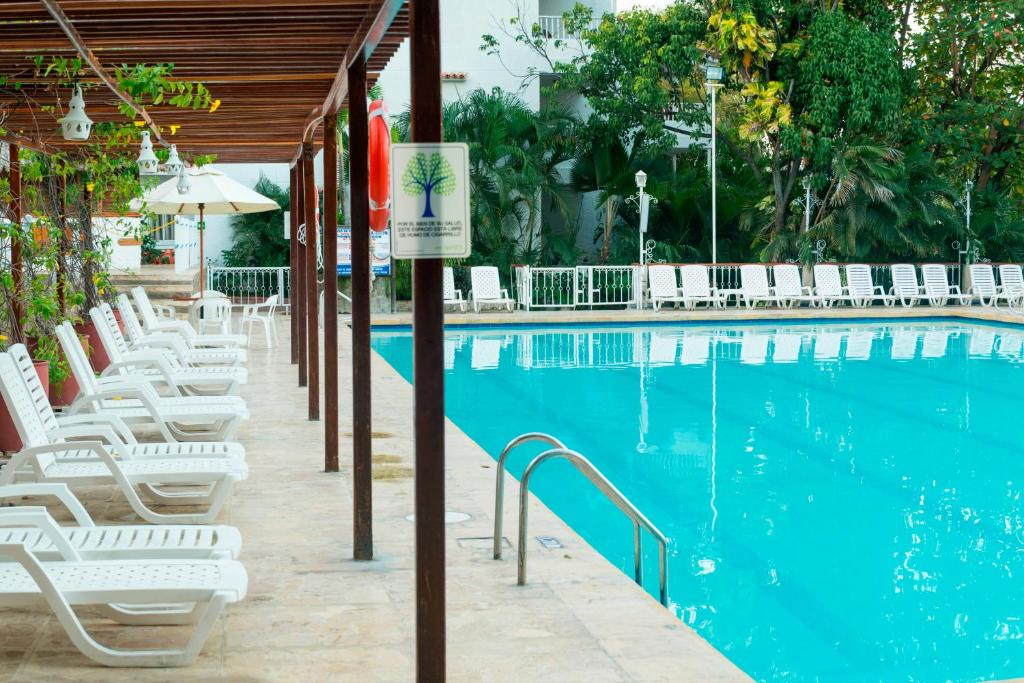 Piscina en o cerca de Decameron Galeon - All Inclusive