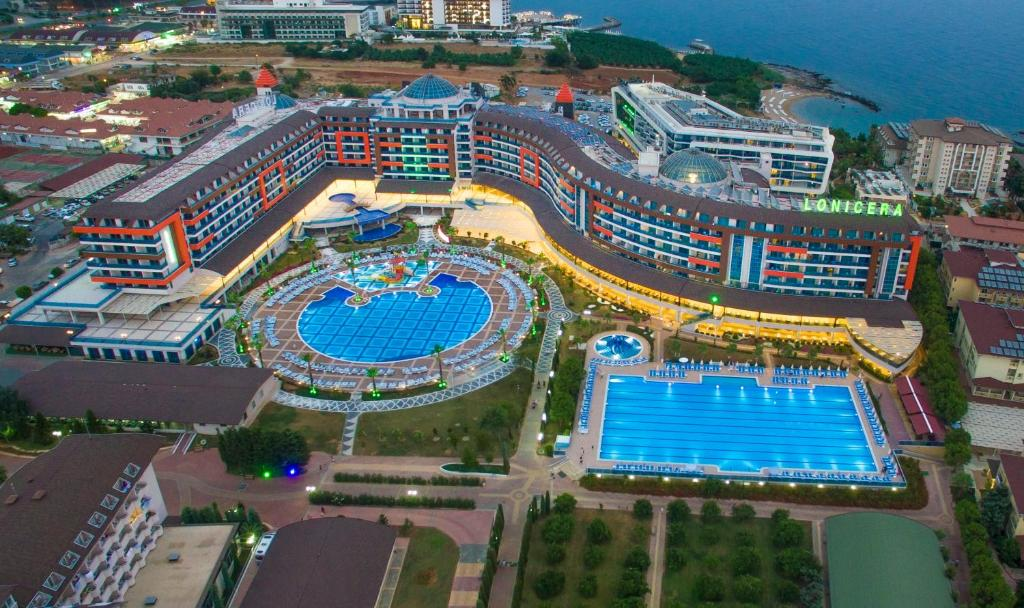 A bird's-eye view of Lonicera Resort & Spa Hotel - Ultra All Inclusive