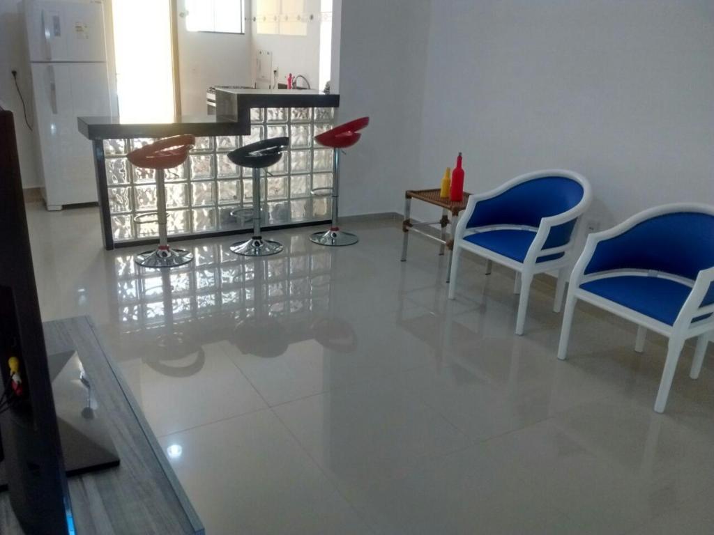 The lounge or bar area at Apartamento Telégrafo