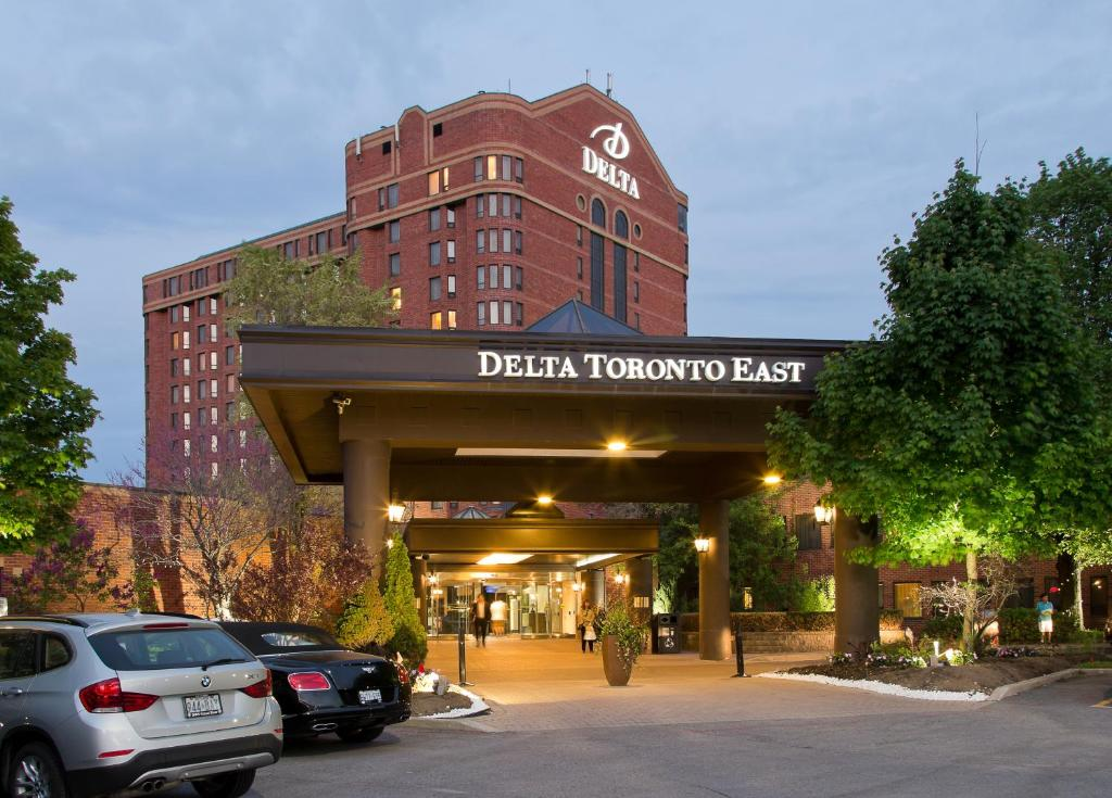 The facade or entrance of Delta Hotels by Marriott Toronto East