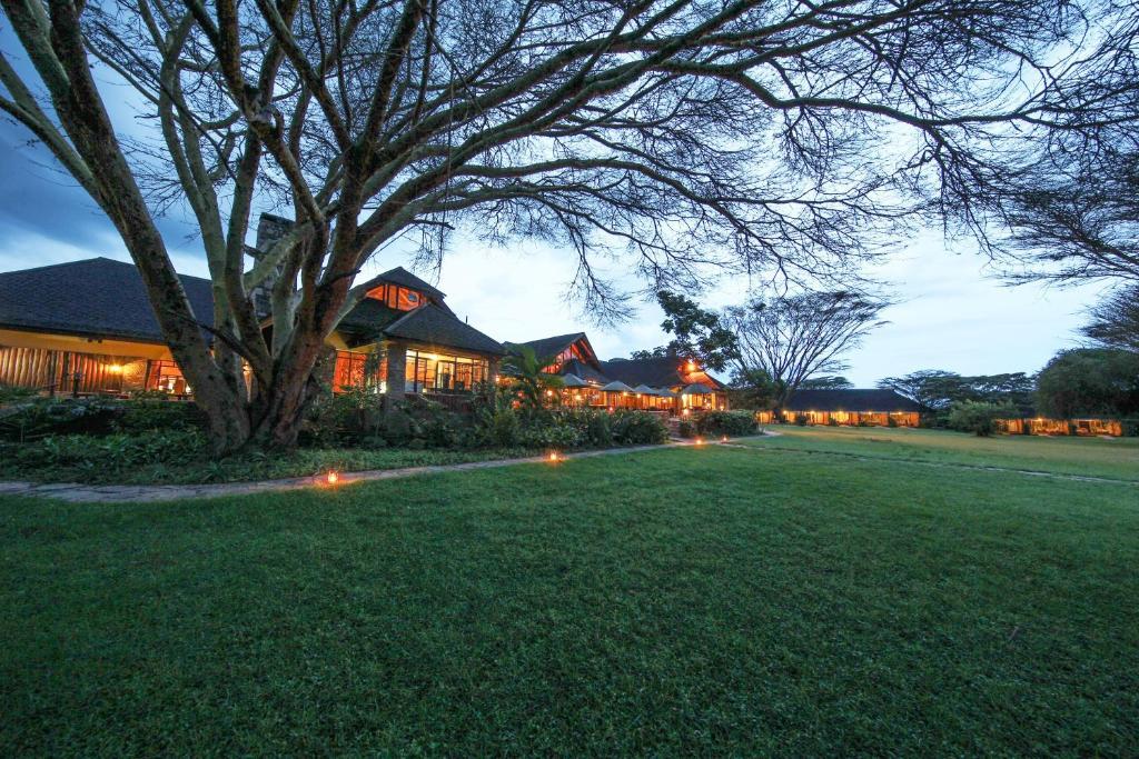 Jardín al aire libre en Keekorok Lodge