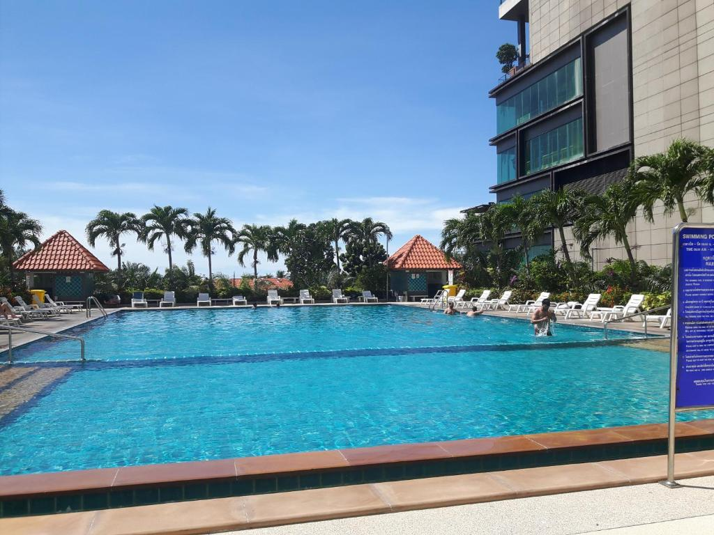 The swimming pool at or near Blue Ocean Suite