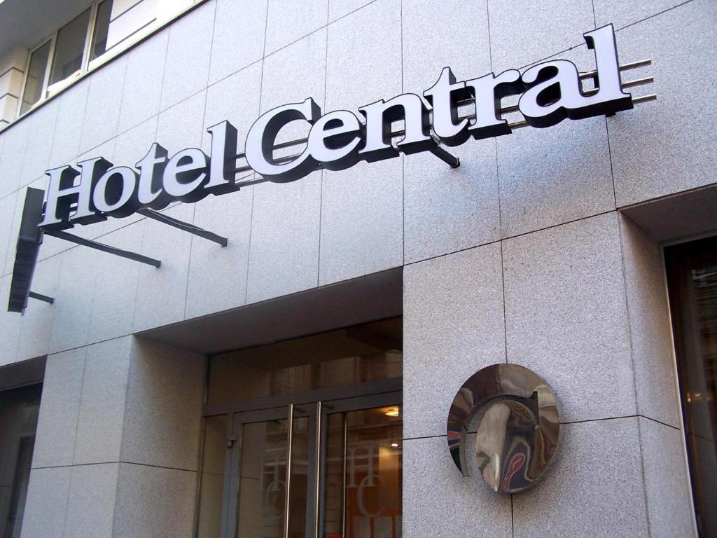 The facade or entrance of Hotel Central by Zeus International