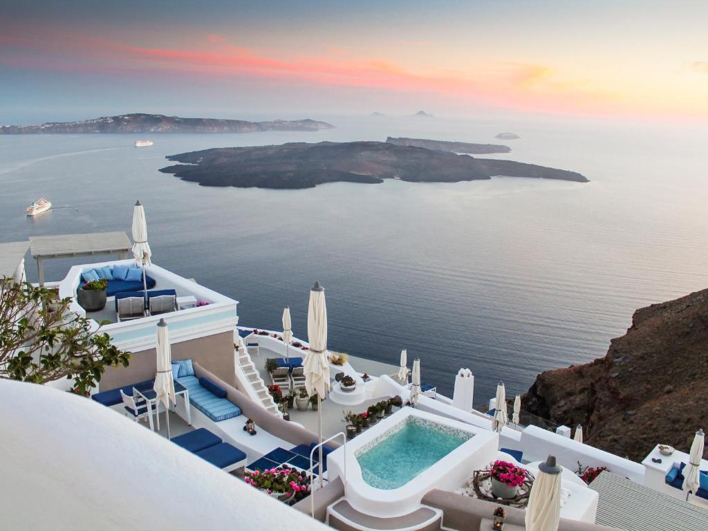 Hotel Iconic Santorini Imerovigli Greece Booking Com