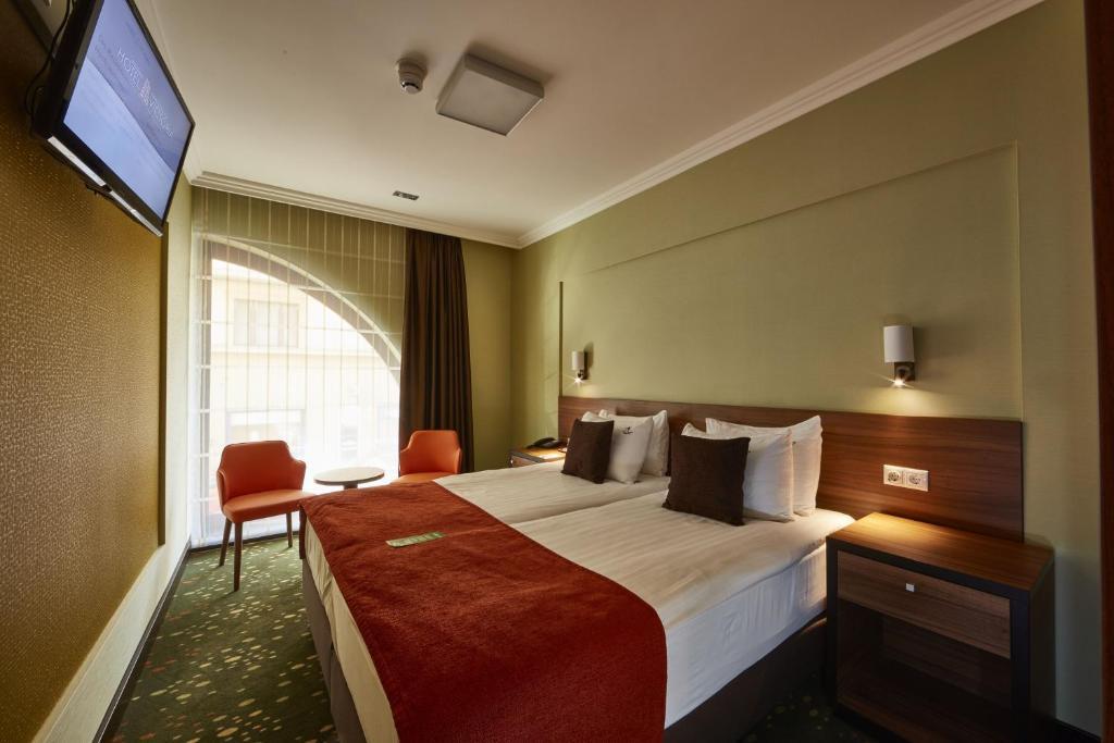 Ein Zimmer in der Unterkunft Budget Hotel Victoria