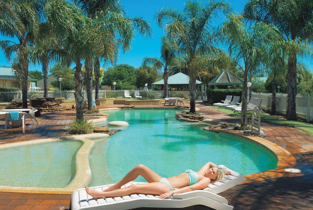 The swimming pool at or near Murray Downs Resort