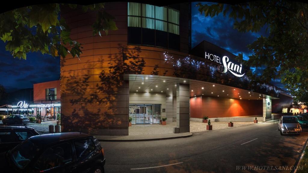 Exteriér nebo vchod ubytování Hotel Sani