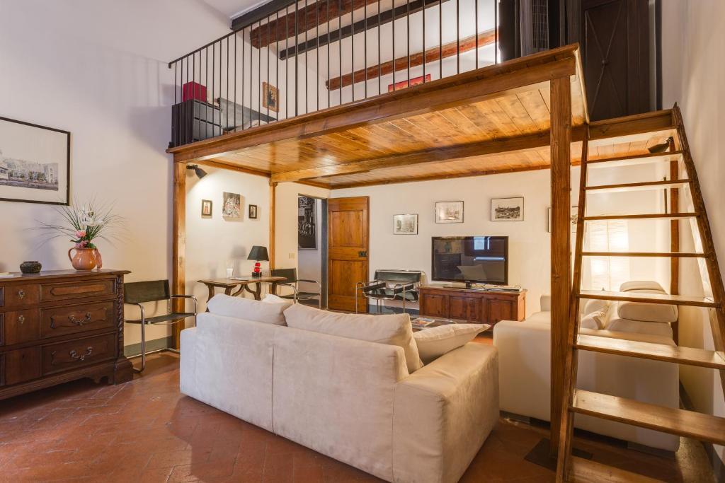 De lounge of bar bij Casa de Peruzzi