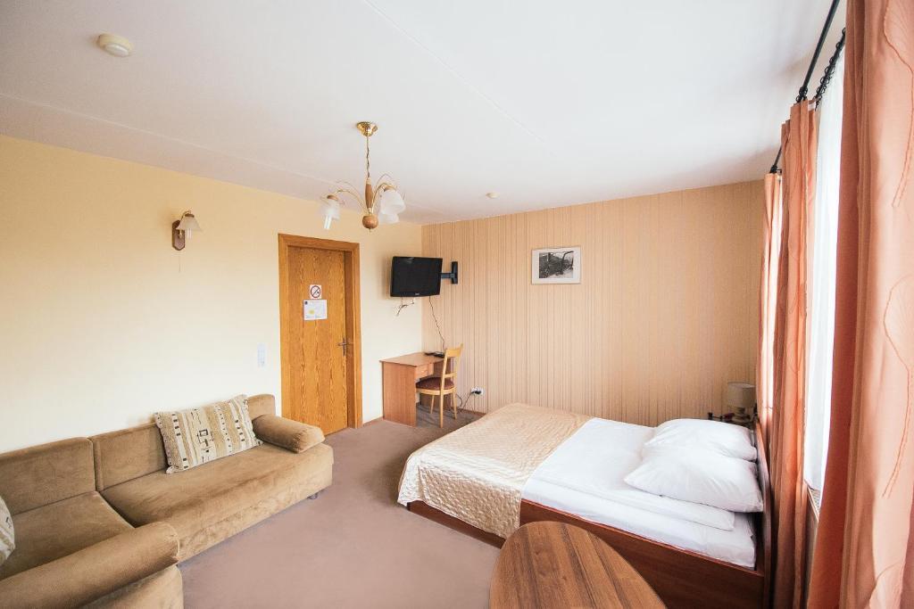 A room at Svečių namai Lingės