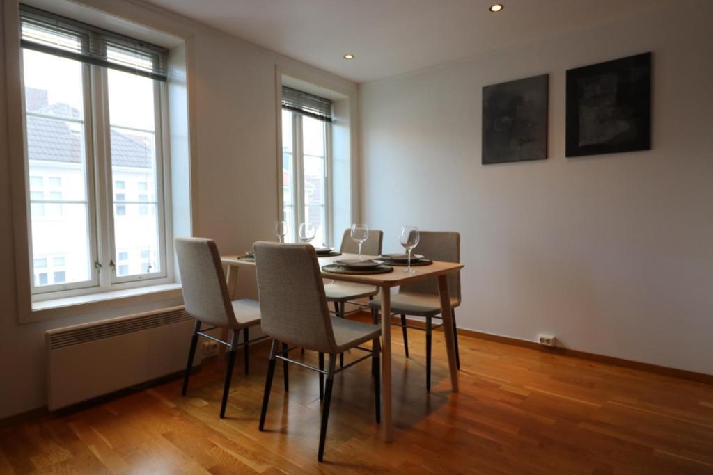 Zona de estar de Apart Stavanger Signature Apartment Hotel