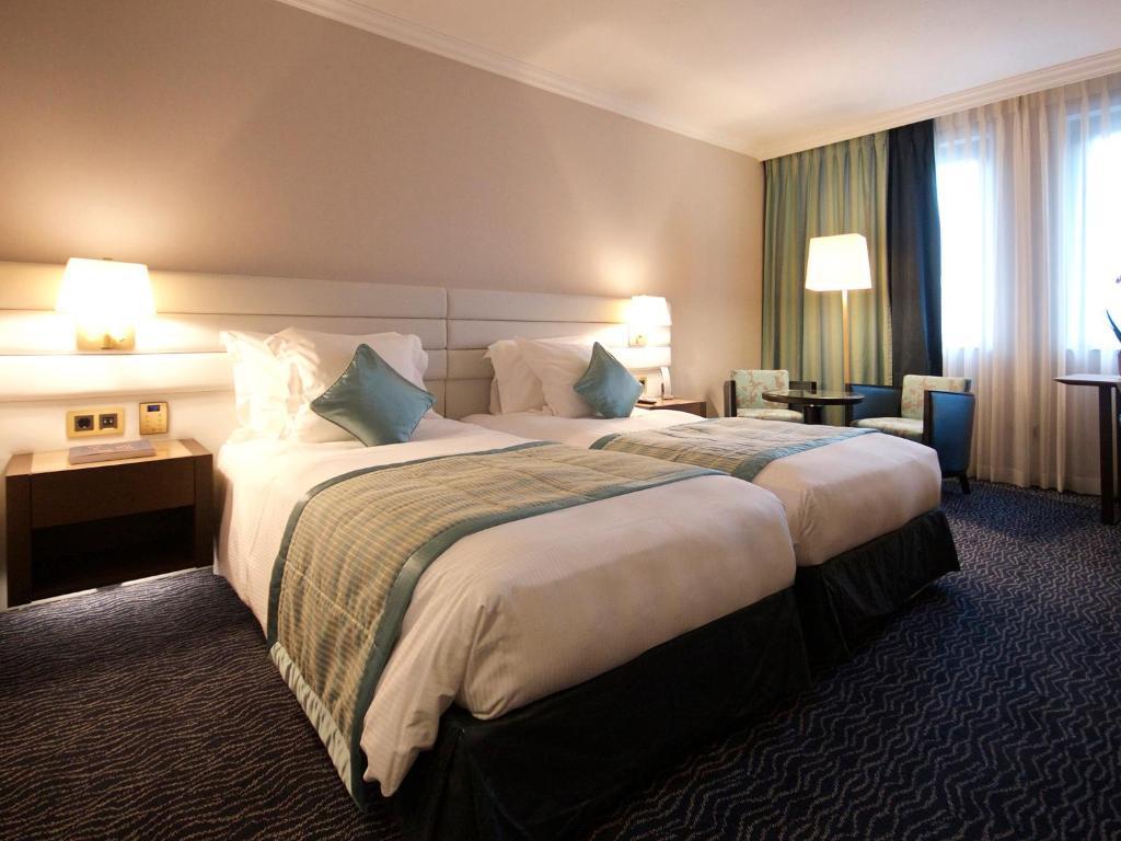 A room at Hotel Le Royal