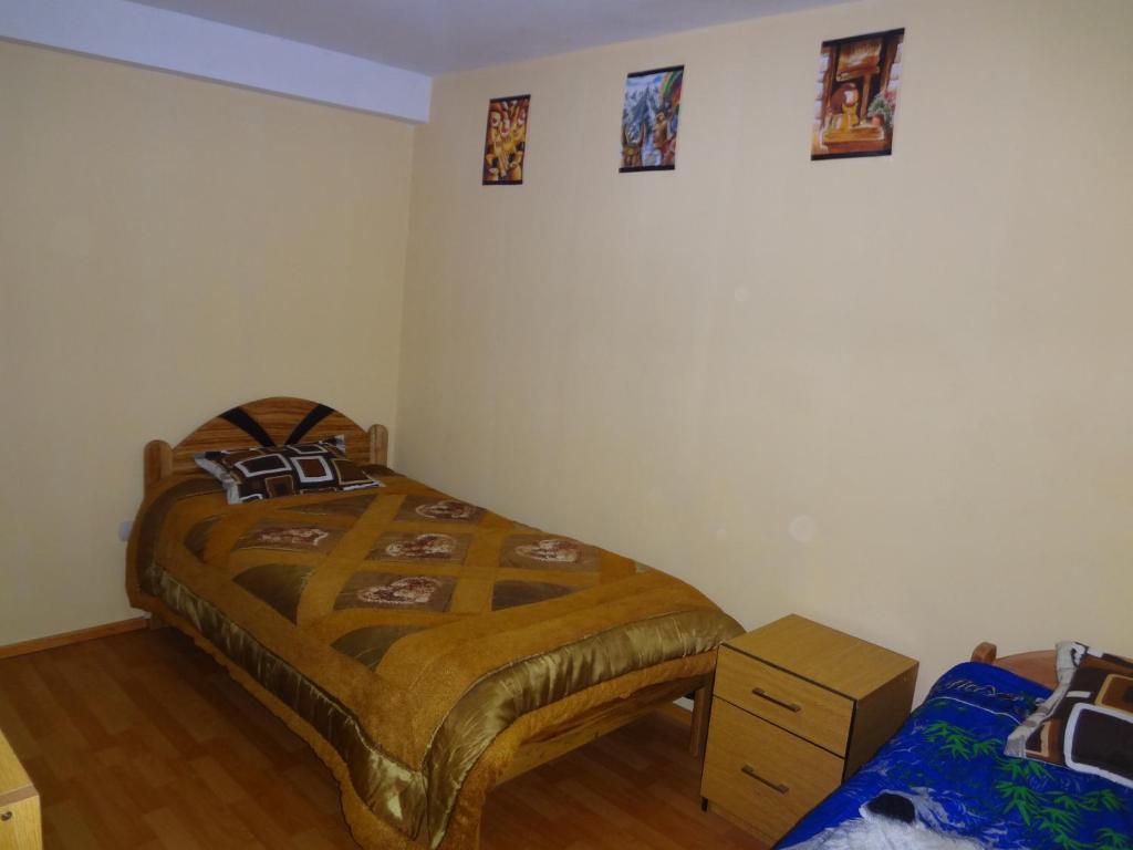 Cama o camas de una habitación en Family Home Zamys