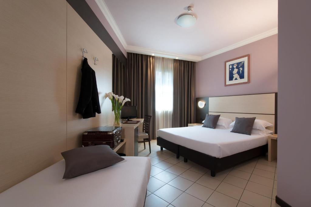 Et rom på CDH Hotel La Spezia