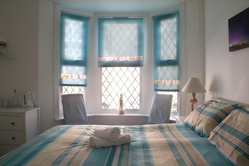 A room at Timrick Lodge