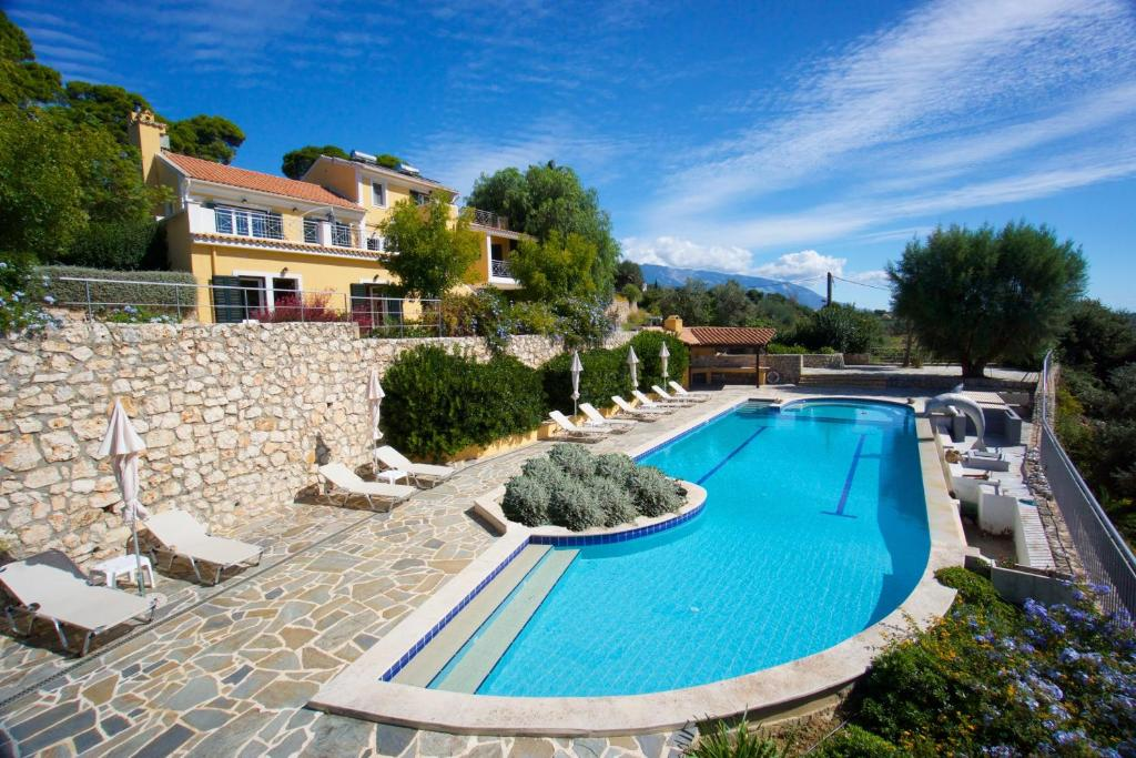 The swimming pool at or near Villa Theodora