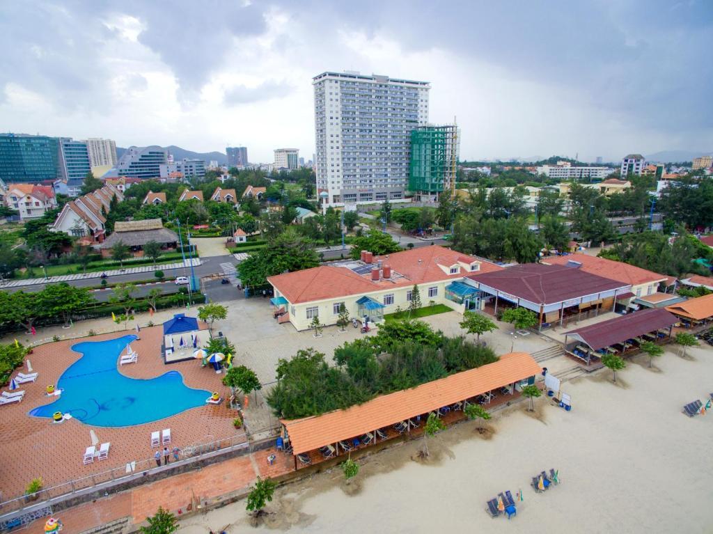 Tầm nhìn từ trên cao của Gio Bien Resort
