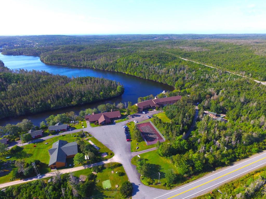 A bird's-eye view of Liscombe Lodge Resort & Conference Center