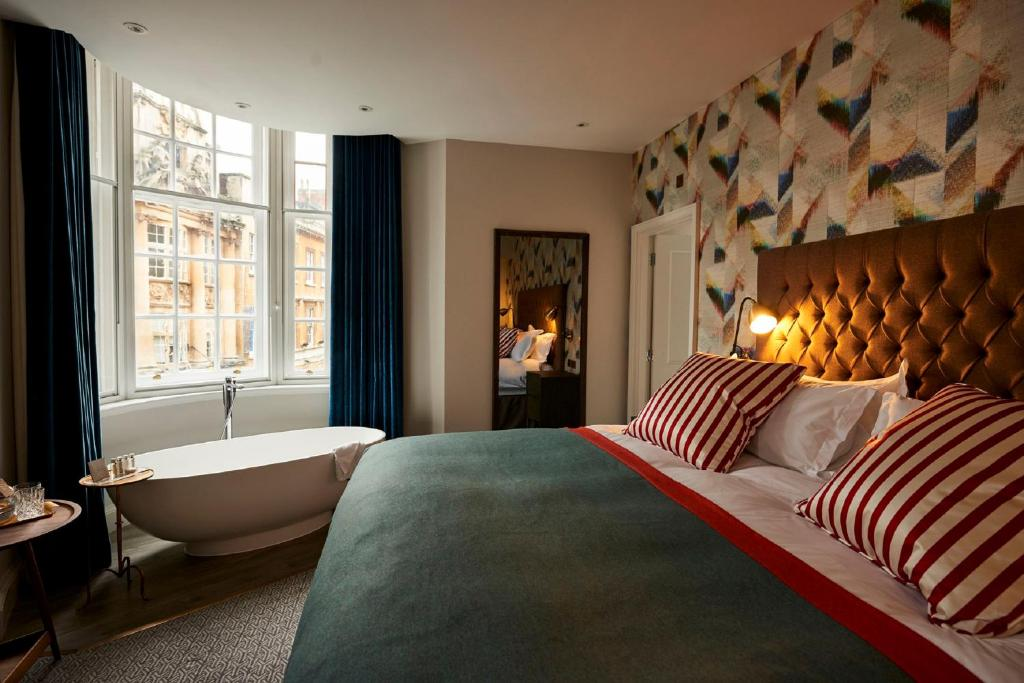 A room at Bristol Harbour Hotel & Spa