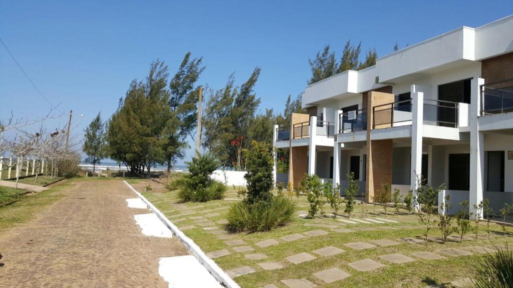 A garden outside Praia Real Torres
