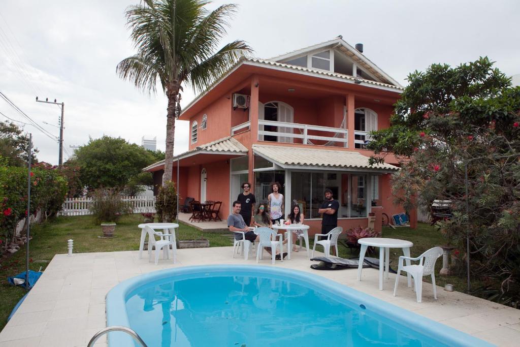 A piscina localizada em On The Road Hostel Campeche ou nos arredores