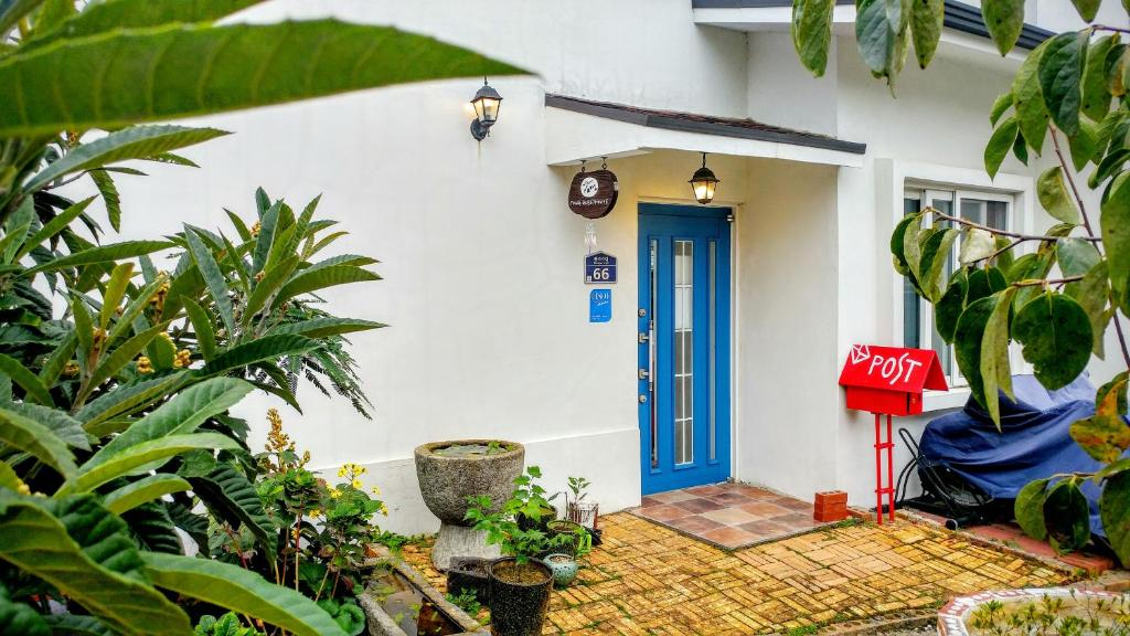 Terase / āra zona naktsmītnē Tong Guesthouse
