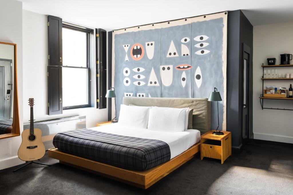 A room at Ace Hotel New York