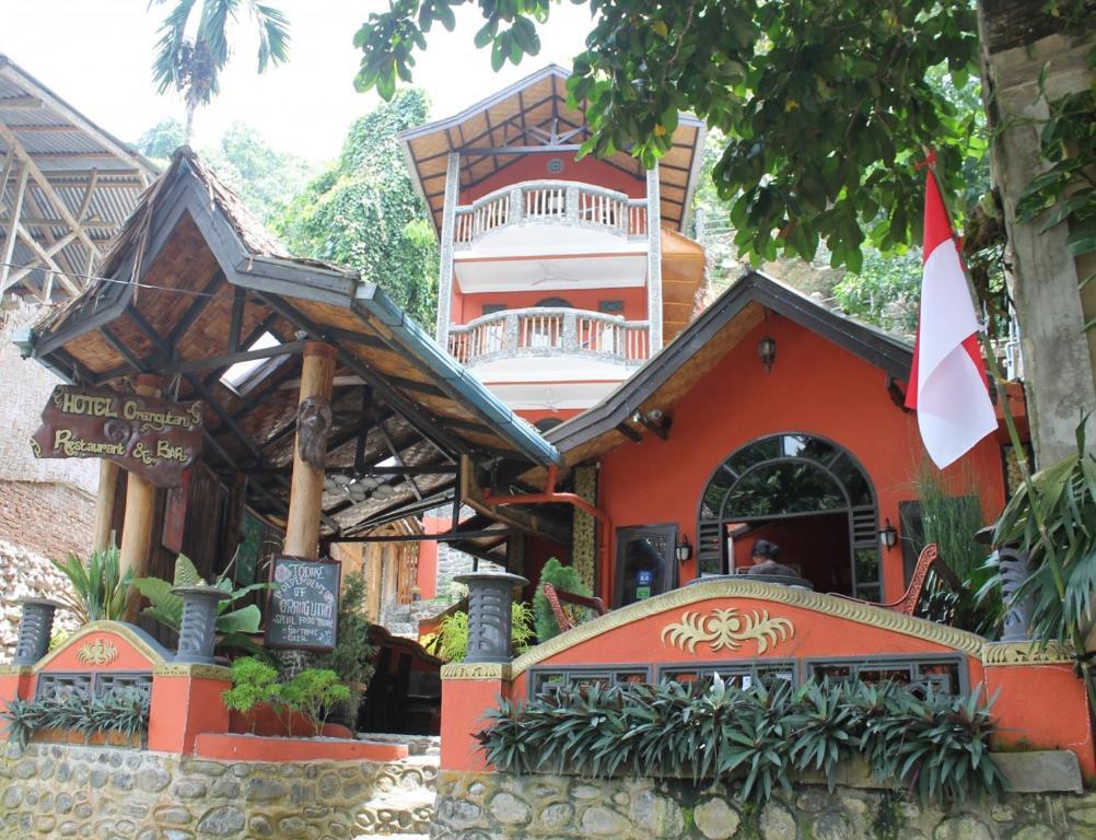 Фасада или вход на Hotel Orangutan