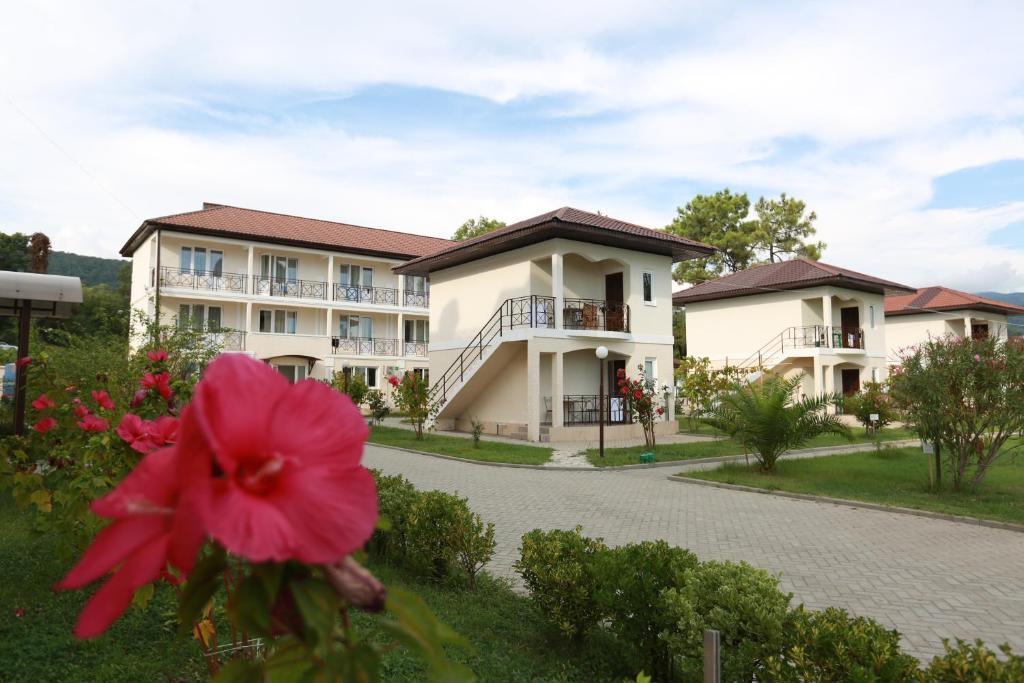 Сад в Отель «Анакопия Club»