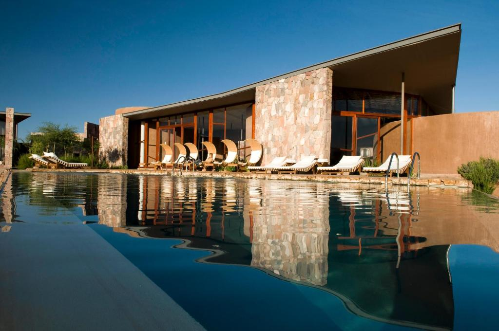 The swimming pool at or near Tierra Atacama Hotel & Spa