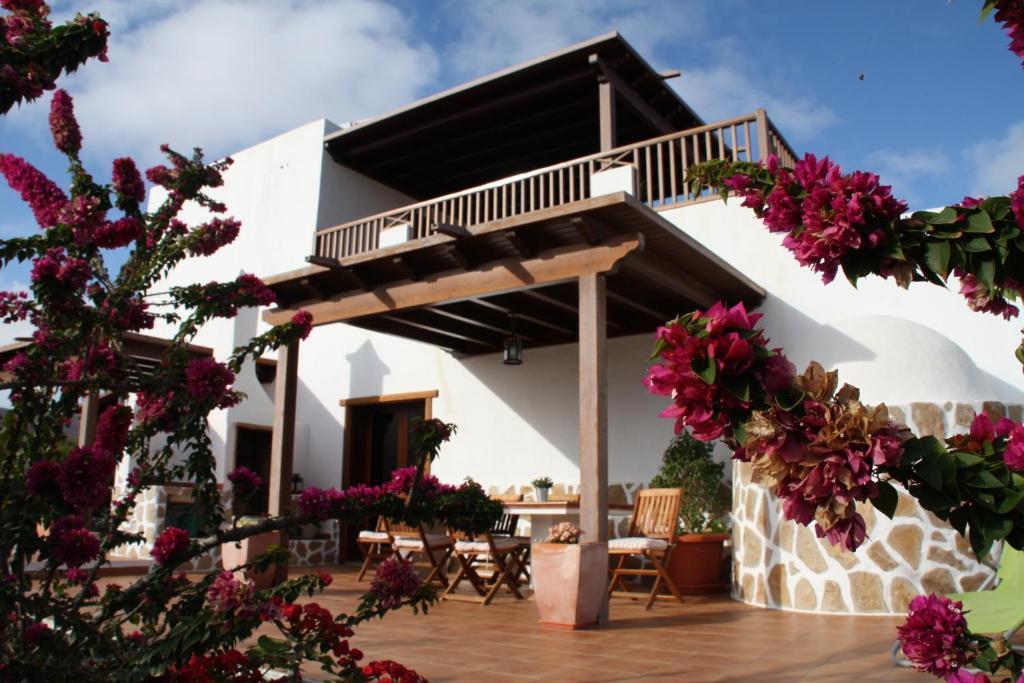 A porch or other outdoor area at Finca Los Pérez