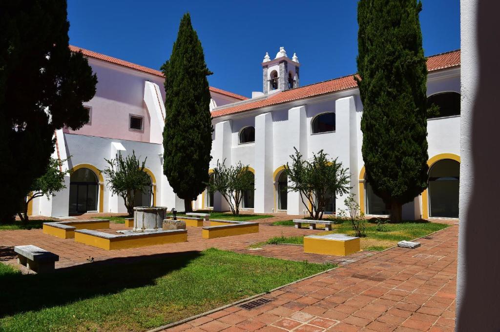 A garden outside Pousada Convento de Beja