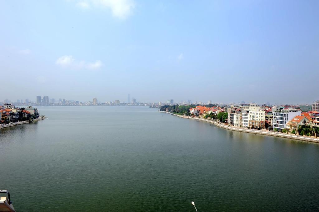 Phòng Deluxe nhìn ra Hồ nước