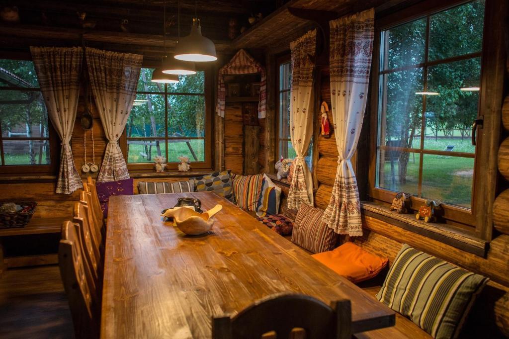 Лаундж или бар в Фермерский дом в Пронино