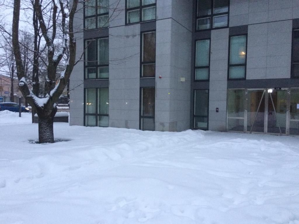 Liivaoja Apartment talvella