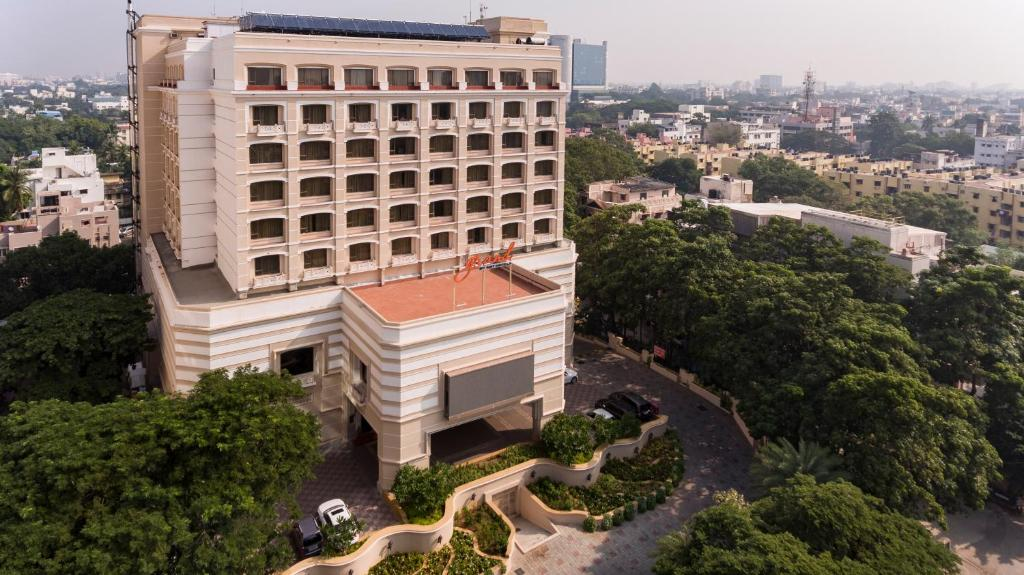 A bird's-eye view of Grand Chennai by GRT Hotels