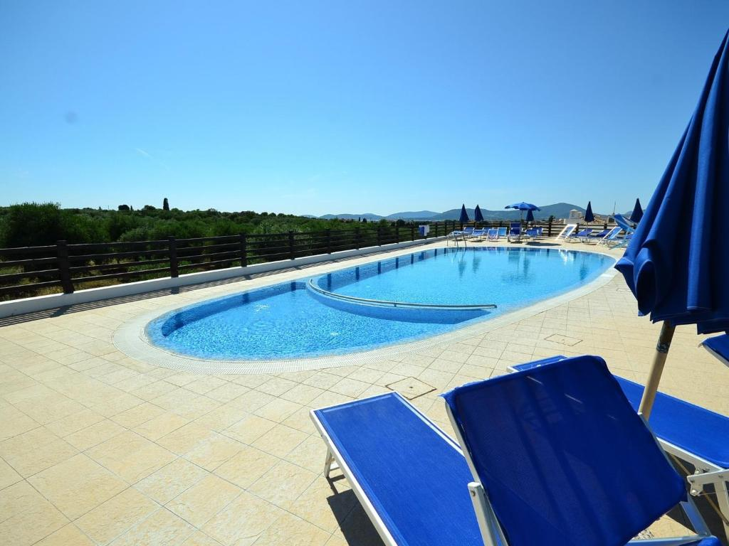 Roofed Villa in Sardinia with private pool and garden ...